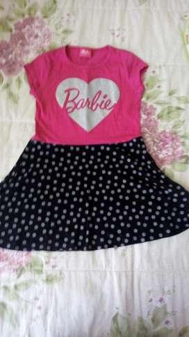 Vestido de Barbie Talla 6