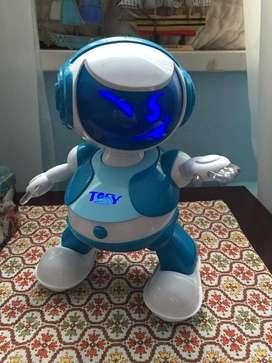 Tosy Robotics discorobo Juguete con voz, color azul