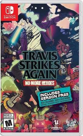 No More Heroes Travis Strikes Again Switch Nuevo y Sellado