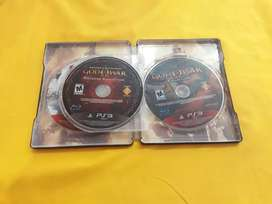 Juego PS3 GOD of War collection