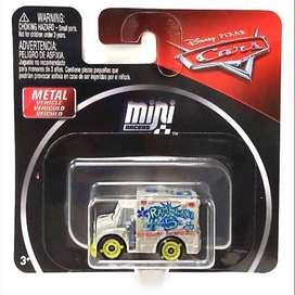 Cars - Mini Racers - Dr. Damage - Die-Cast - Vehiculo de Metal - Disney - Pixar - Mattel - Regalo Navidad