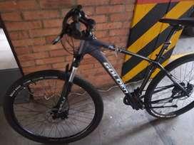 Bicicleta con seguro por un año, por hurto o accidente