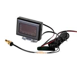 Sensor de temperatura de agua del motor para vehículos con pantalla