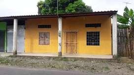 Casa con estructura para losa