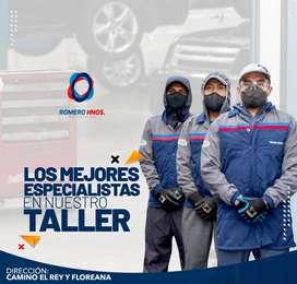 TALLER ELECTRICO DE AUTOS MULTIMARCA - TOYOTA, NISSAN, MAZDA, CHEVROLET, KIA, HYUNDAI, REPUESTOS ELECTRICOS ROMERO HNOS.