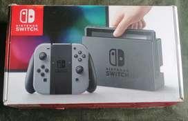 Nintendo switch gris + control pro+ 2 juegos