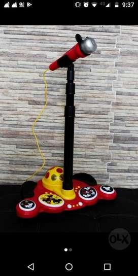 Microfono Infantil Jugute Mickey