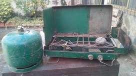 cocina simplex para camping 2 hornallas