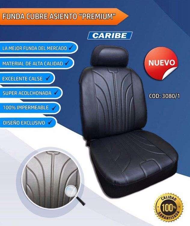 Funda Cubre Asiento Para Auto – Calidad Premium Caribe 0