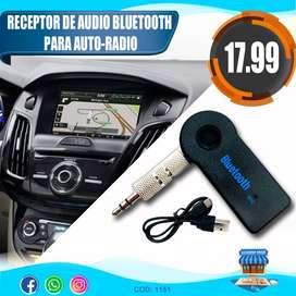 Receptor De Audio Bluetooth Para Autos Y Equipos De Sonido