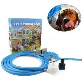 Manguera Para Mascotas Perros Gatos Adaptable Pet Bathing To + Envió