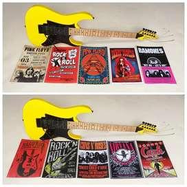 posters adhesivos vitange rock