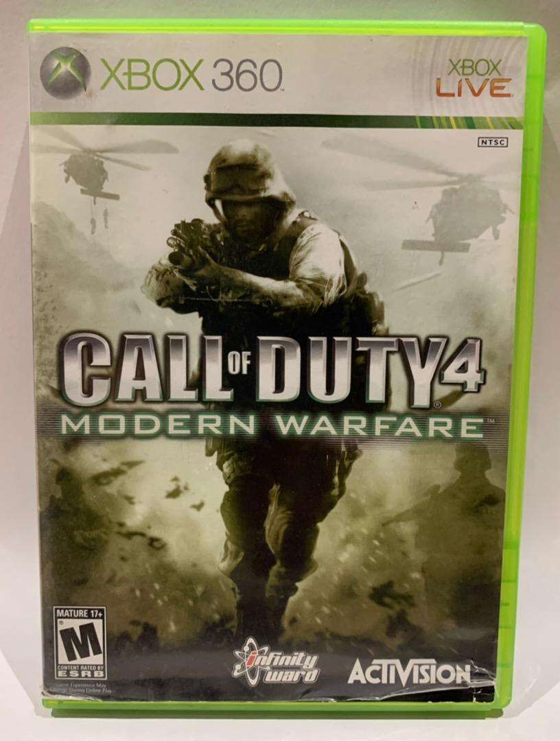 Call Of Duty 4 Modern Warfare - Xbox 360 Original