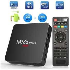 TV BOX 2GB ram 16RoM CONVERTIDOR DE TV EN UN SMART MX QPRO