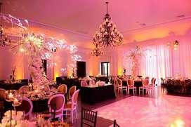 Renta de luces para bodas y eventos en cartagena