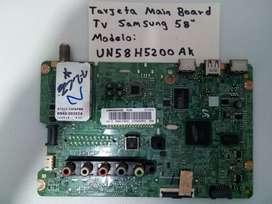 Main Board Tv Samsung Modelo:un58h5200ak