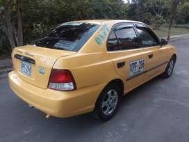 Se vende taxi afiliado a flota Palmira recibo camioneta doble cabina como parte de pago