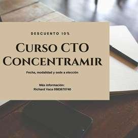 Curso CTO ConcentraMIR