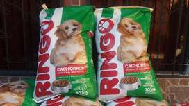 Vendo Comida de Cachorros Ringo