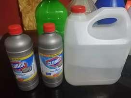Venta de artículos de limpieza