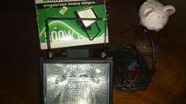 Reflector halógeno Interelec 500w