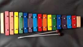 Xilofono Infantil 2 octavas (15 notas) perfecta afinación