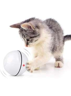 Bola con movimiento automatico - juguete de gato