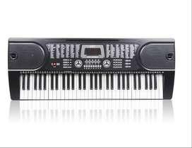 Teclado Organo Auto Didactico 61 Teclas 128 Ritmos 12 Demos