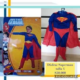 Disfraz de Superman - Talla 4