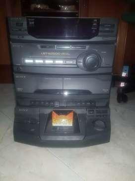 Equipo de sonido Sony HCD-G2500 usado