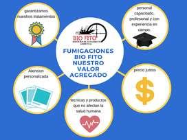 Fumigaciones efectivas, Lavado y desinfección de tanques, certificados