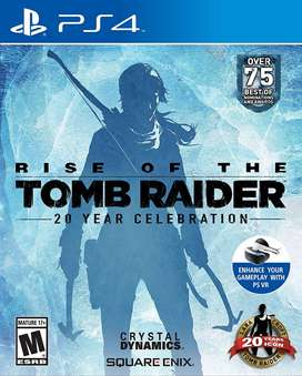 Rise Of The Tomb Raider Playstation 4 Ps4, Físico