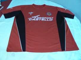 Camiseta Entrenamiento Villareal Puma Talle L de Utilería # 8 Riquelme