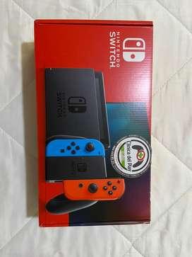Nintendo Switch + Peliculas + Accesorios