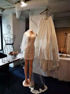 Vestido de Novia 2 en 1
