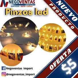 PINZAS LED