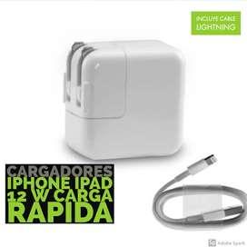 carga rapida para ipad y iphone