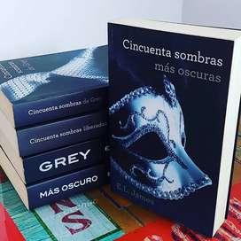 Cincuenta sombras más oscuras, segundo libro de la saga cincuenta sombras