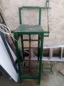 Máquina de hacer traperos