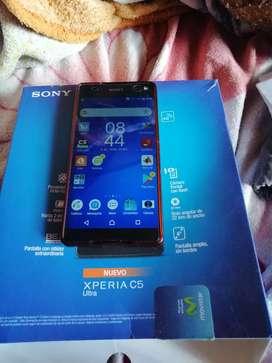 Vendo celular Sony Xperia C5 ultra