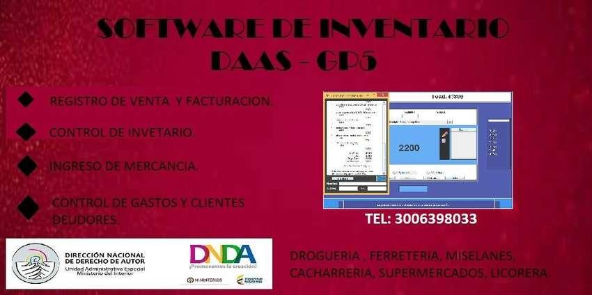 Software DAAS-GP5 Inventario y contabilidad 0