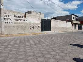 Lote de terreno de 400m en la Cooperativa Nuevo Amanecer/ Quito-Calderón