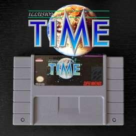 Juego ILLUSION OF TIME para Super Nintendo SNES