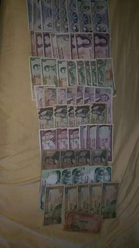 Vendo o permuto billetes antiguos
