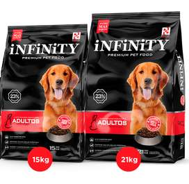 Infinity perro adulto 21 kg