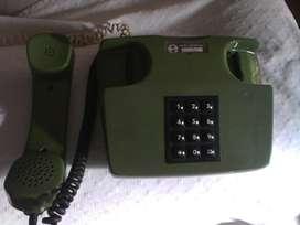 Telefono entel retro verde
