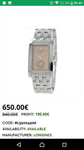 """""""LONGINES"""" Reloj de pulsera"""