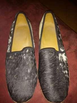 Zapatos cuero de vaca talla 41 casi nuevos