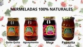 Mermeladas de Frutas de Oxapampa y Selva Central Como Aguaymanto Quito Quito Mora Guayaba Papayita