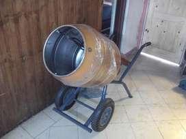 Hormigoneras Reforzada Motor de Un Hp